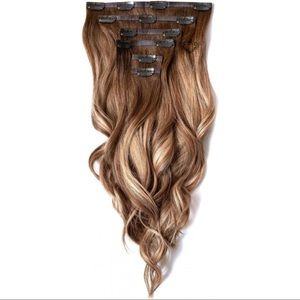 FOXYLOCKS Brondie 16in 150g Extensions NWT damaged